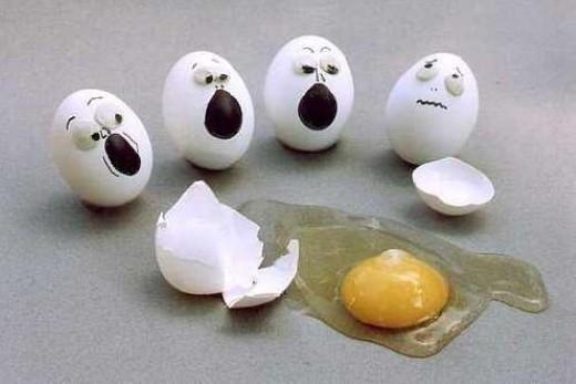 separar clara y yema de huevo