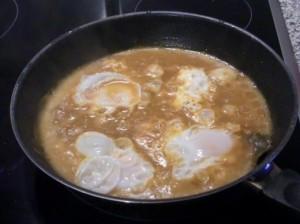 huevos guisados