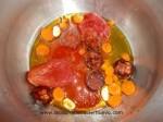 incorporar zanahoria y tomate