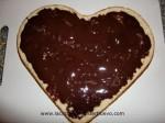 bizcocho relleno de chocolate
