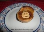 tartaleta pastel de calabaza