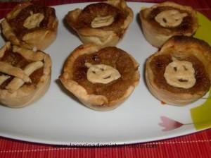 tartaletas pastel de calabaza