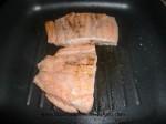 marcar salmon en la plancha