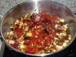 rehogar cebolla, pimiento y ajo
