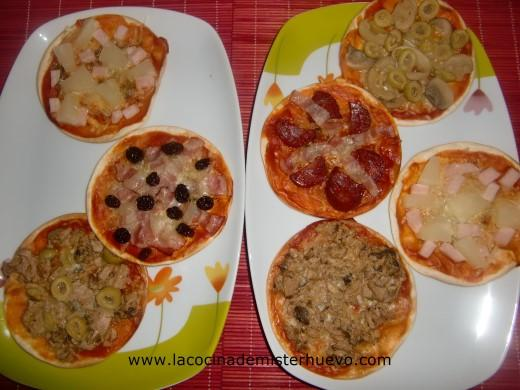 minipizzas oblea de empanadilla