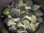 escaldar el brocoli