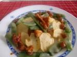 patatas con frejoles y pollo