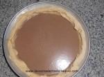 hornear tarta de calabaza y chocolate