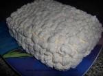 cubrir la tarta con nata en manga