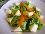 ensalada con manzana