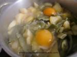 cocinar los huevos