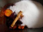 cocinar mermelada de ciruela