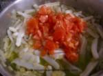 sofrito de tomate y calamar