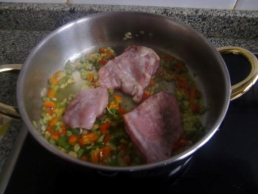 Arroz con conejo la cocina de mister huevo for Cocinar un conejo