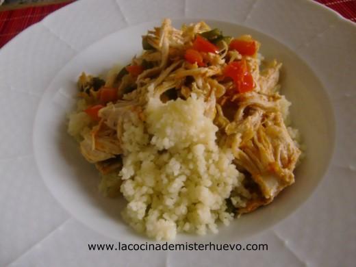 cuscus de pollo