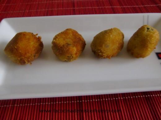 bolas de patata y atun