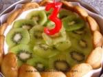 decorar charlotte con kiwi
