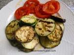 guarnicion de verduras a la plancha