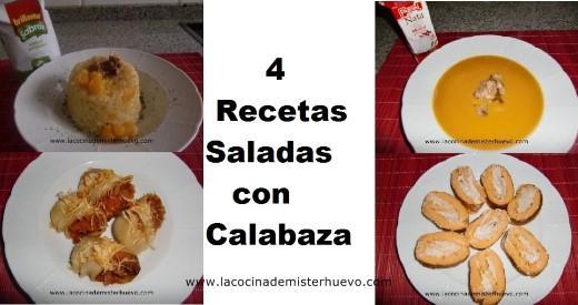 recetas saladas con calabaza