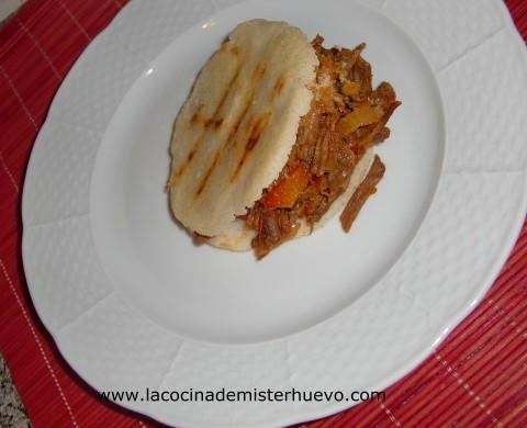arepa venezolana