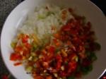rehogar cebolla y pimiento