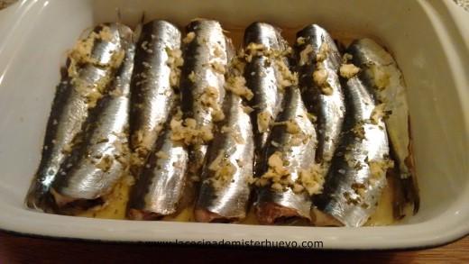 sardinas horneadas