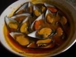incorporar mejillones a su salsa