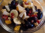 macedonia de frutas de invierno