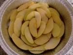 capa de manzana para tarta